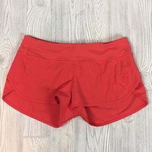 Lululemon Speed Up Running Shorts Sz 8
